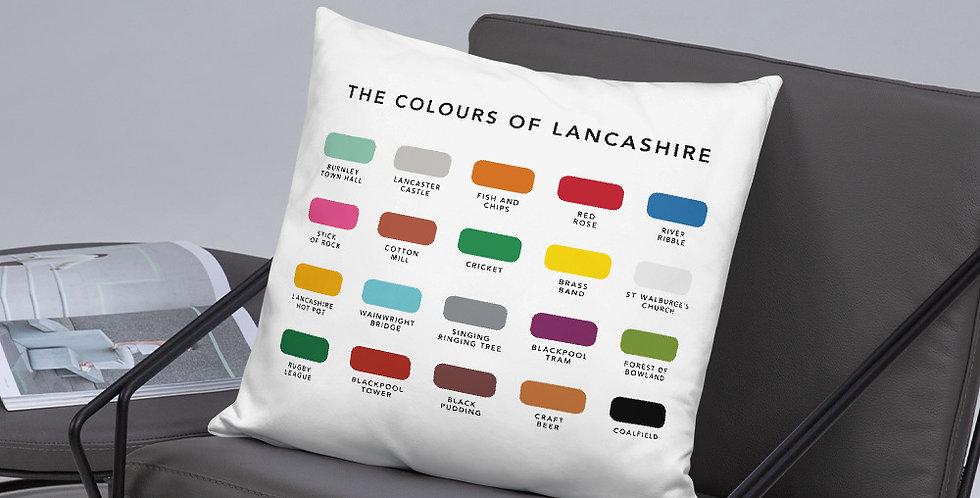 The Colours of Lancashire Cushion