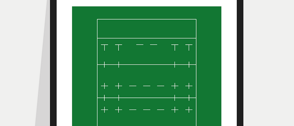 Rugby Union Definition Poster / Print