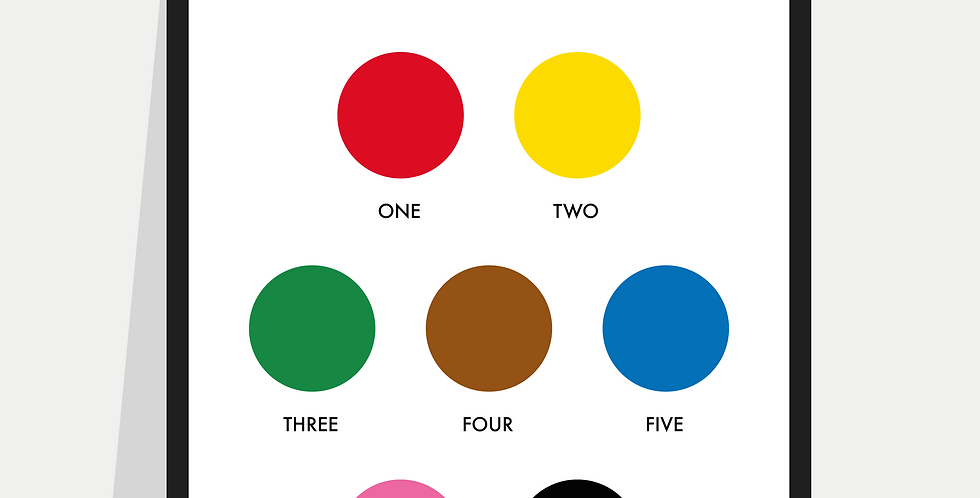 Snooker Points / Snooker Balls Poster / Print