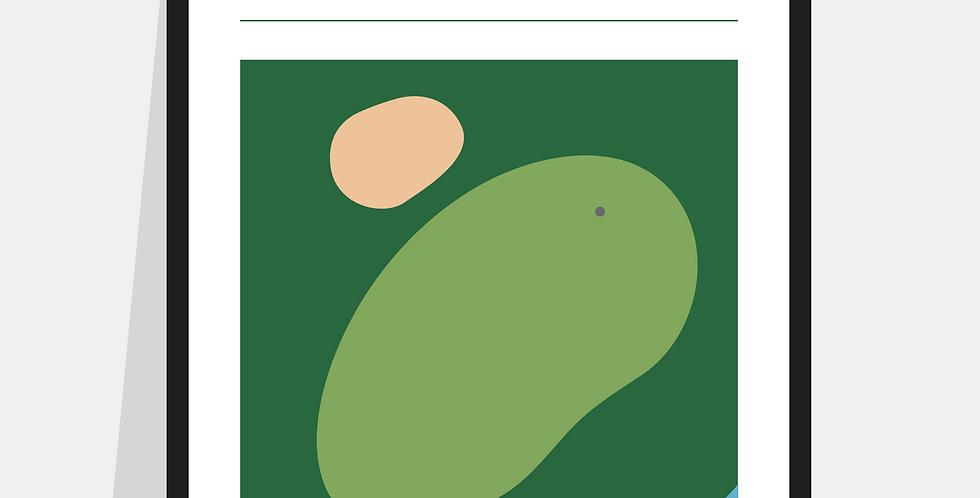 Golf Definition Poster / Print