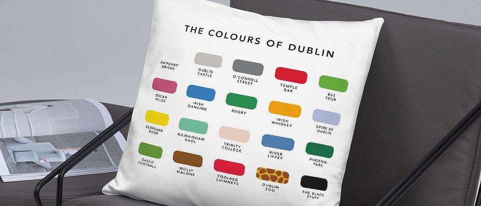 The Colours of Dublin Cushion