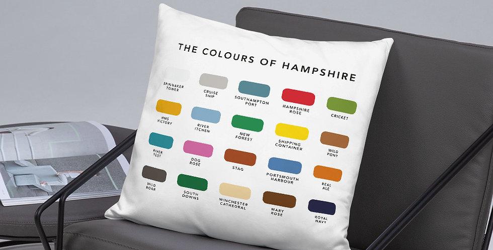 The Colours of Hampshire Cushion