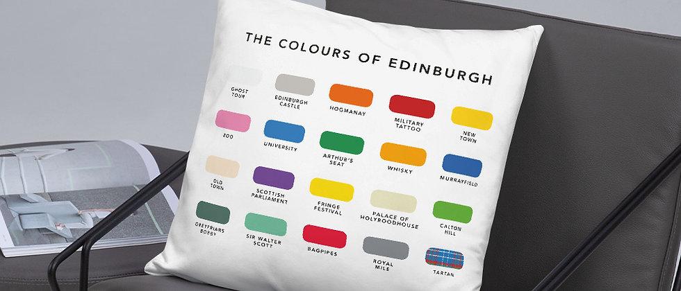 The Colours of Edinburgh Cushion