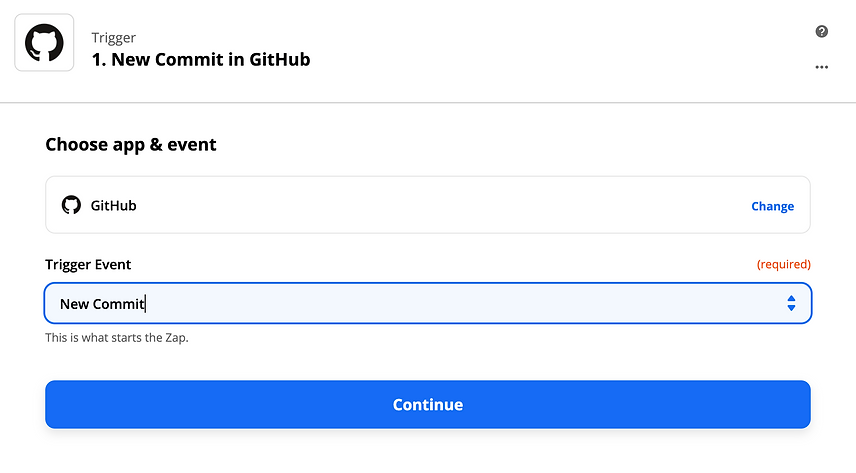 New commit in Guthub