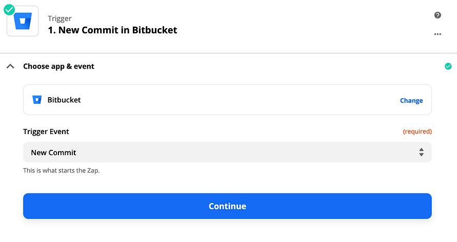 New commit in bitbucket