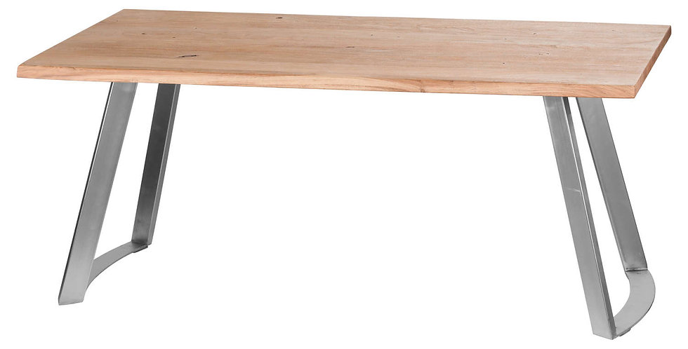 Live Edge Collection Sandblasted Dining Table