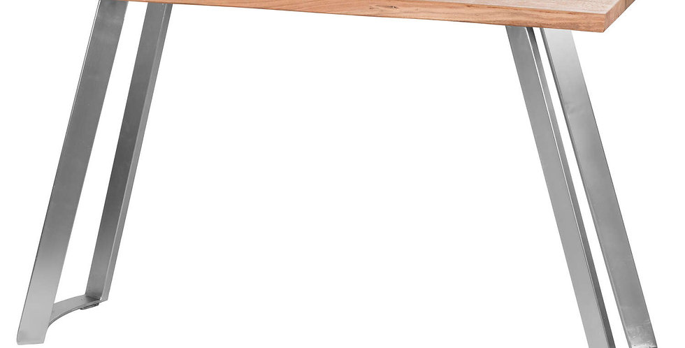 Live Edge Collection Sandblasted Console Table