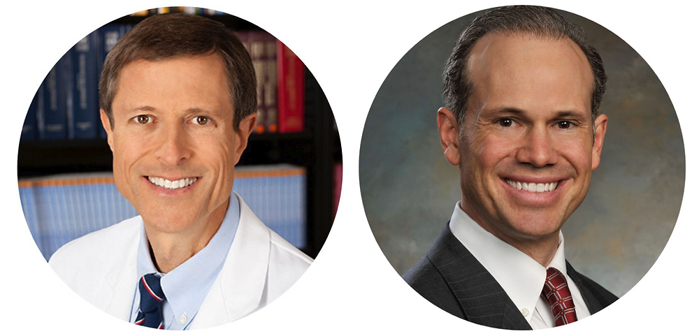 Dr Neal Barnard (PCRM) and Dr Scott Stoll (the Plantrician Project)