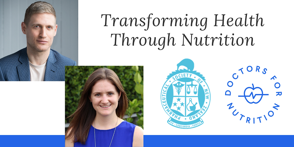 Transforming Health Through Nutrition – Lower Hutt