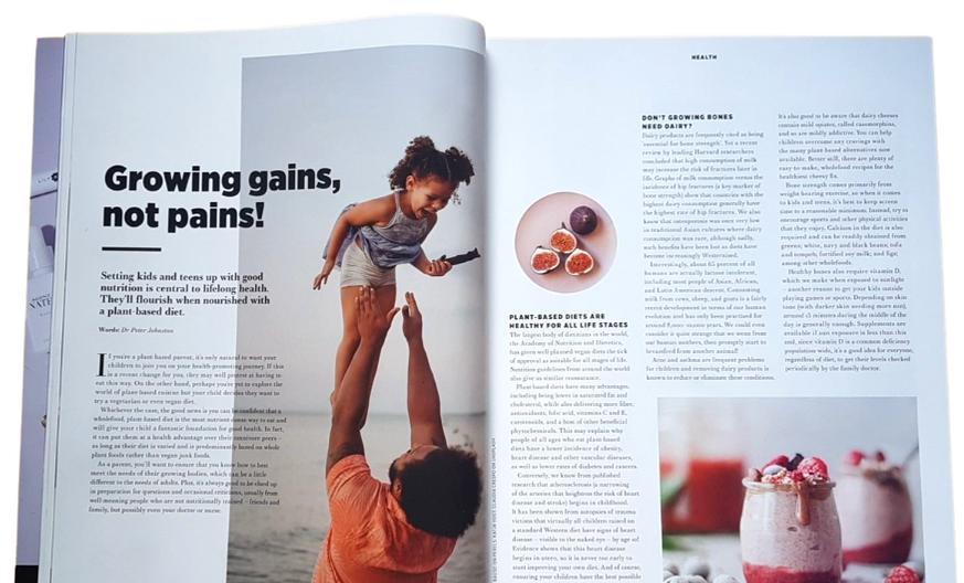 Nourish magazine, January 2021 - Issue 62