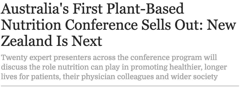 Plant Based News, February 2019
