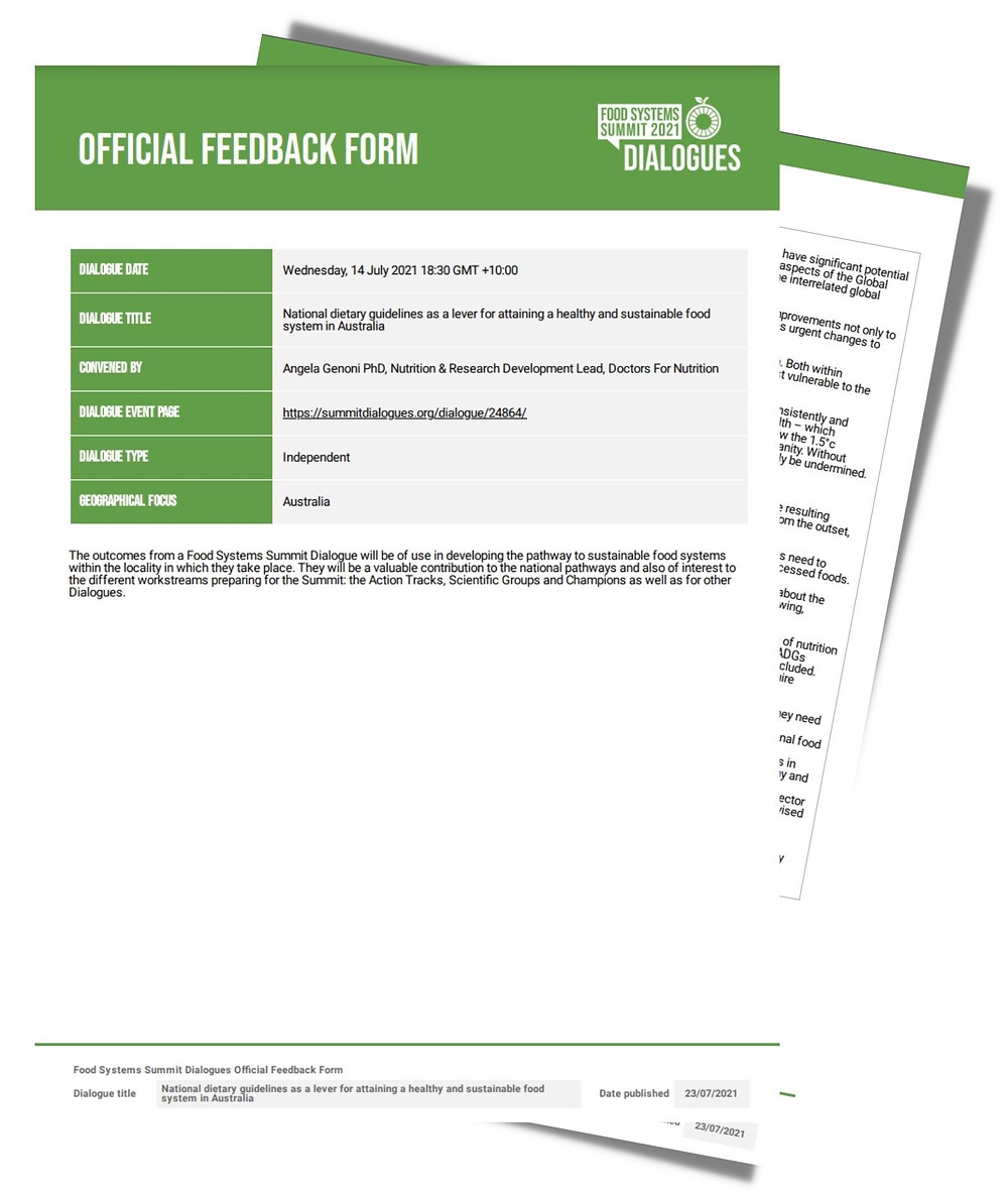 Official Feedback Form image