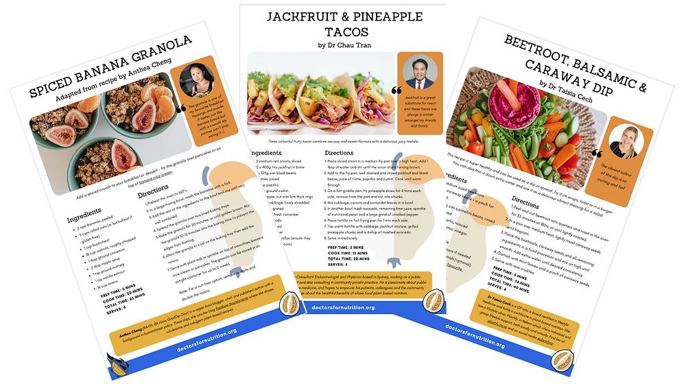 DFN recipe cards