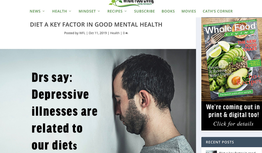 Whole Food Living Magazine, 11 October 2019