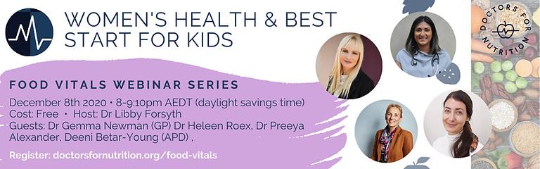Food Vitals 3 | Women's Health and kids.