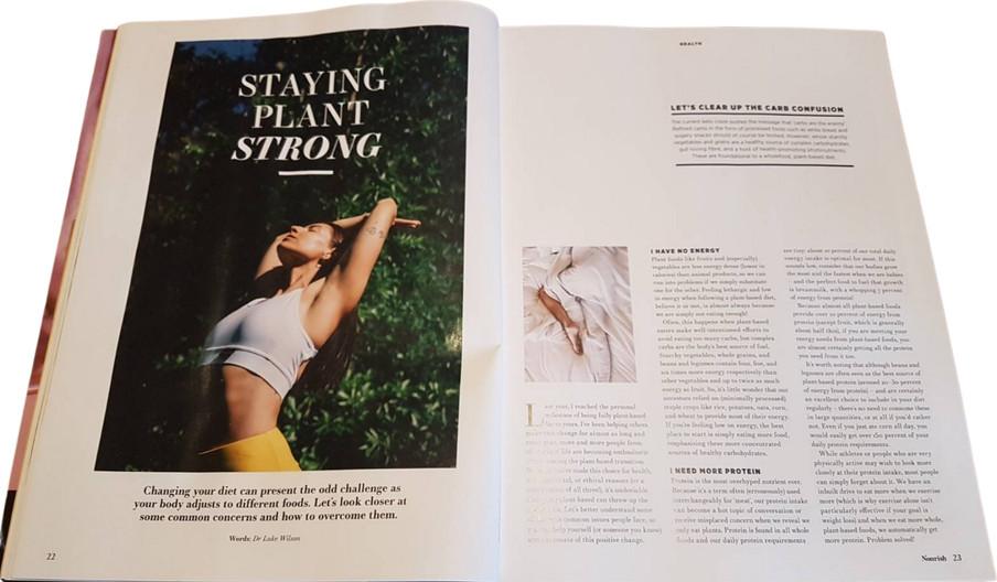 Nourish magazine, May 2021 - Issue 64