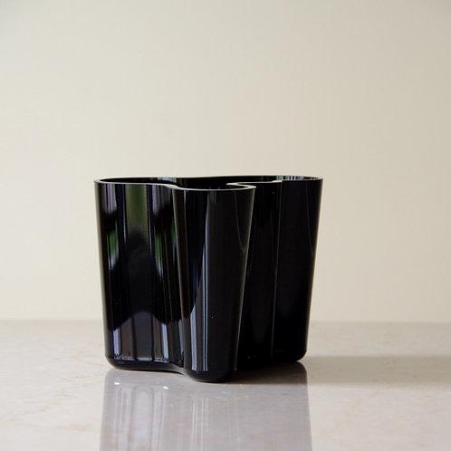 Aalto vase BLACK 120mm