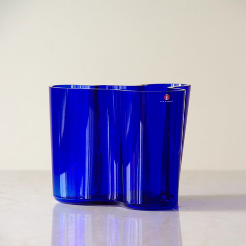 Aalto vase BLUE 120mm