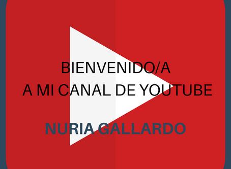 BIENVENIDO/A A MI NUEVO CANAL YOUTUBE