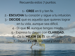 RECUERDA ESTOS 7 PUNTOS CLAVES PARA LOGRAR EL ÉXITO EN TODOS TUS PROYECTOS.