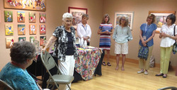Meeting with Docents