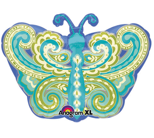 Paisley Butterfly - 18 Inch