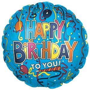 Happy Birthday Confetti - 18 Inch