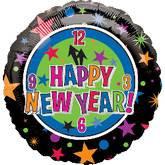 Happy New Years - 18inch