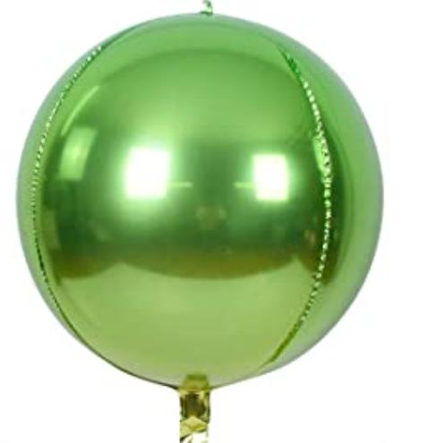 Apple Green Sphere - 22 inch
