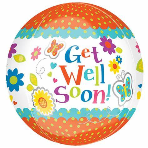 Get well soon! - 18 inch Orbz