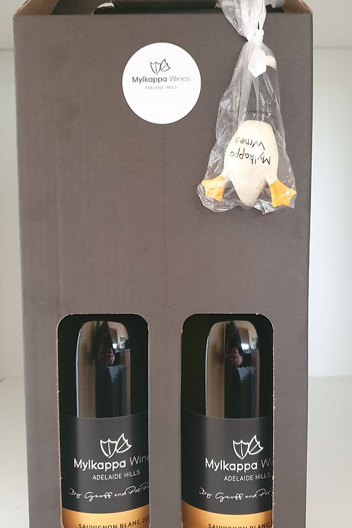 Gift Pack 2 x Sauvignon Blanc and stopper