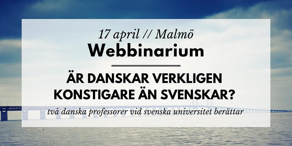 Webbinarium // Är danskar verkligen konstigare än svenskar?