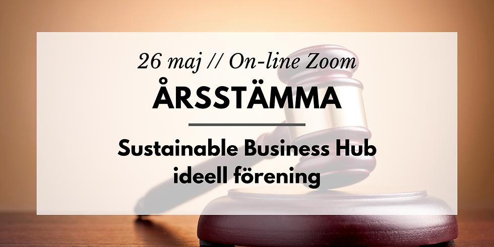 Årsstämma Sustainable Business Hub ideell förening
