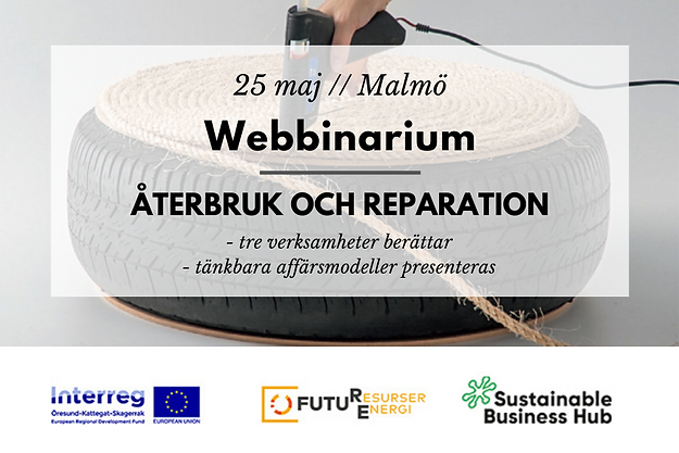Webbinarium & Nätverksmöte // Återbruk och reparation