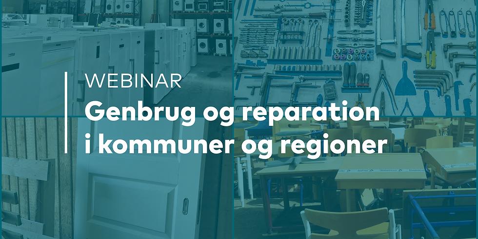 Återbruk och reparation i kommuner och regioner