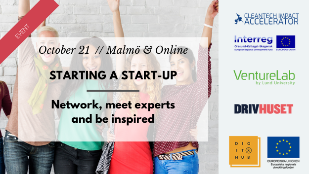 Starting a startup Network, meet experts and be inspired