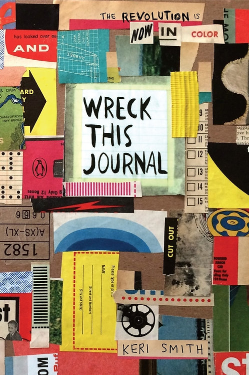 Wreck This Journal - Kerri Smith