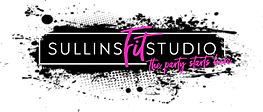 Logo 2 splatter_pink black and white _SullinsFitStudio.png