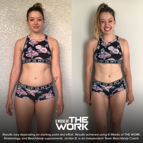 4 weeks of the prep transformation