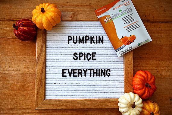 Pumpkin Spice Vegan Shakeology Available Now!