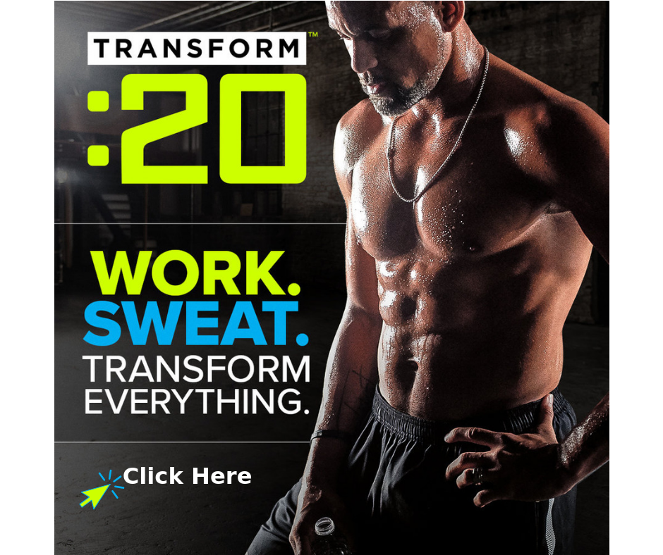 Transform 20 workout with Shaun T