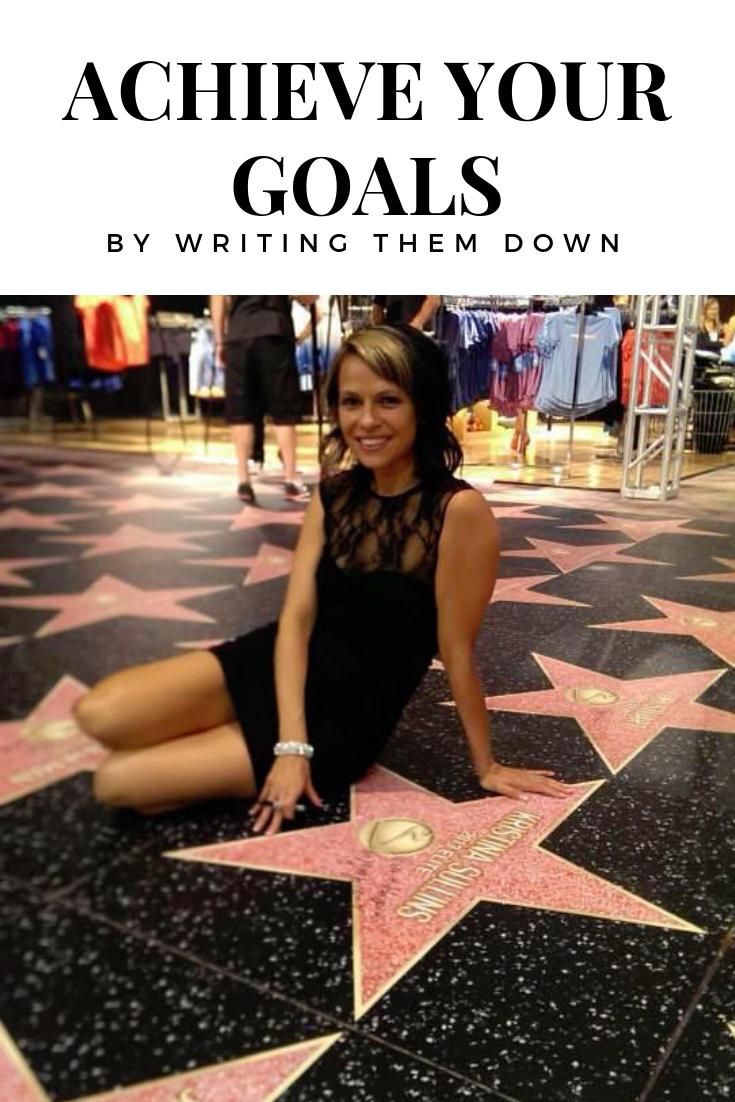 Goal setting with Kristina Sullins