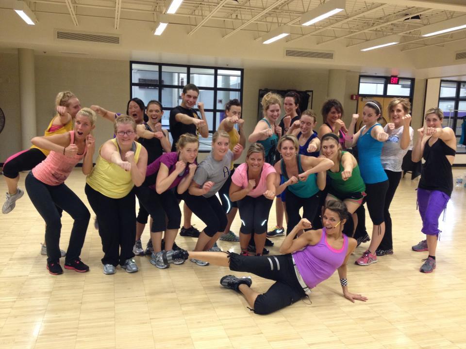 Kristina Sullins Training Turbo Kick Instructors