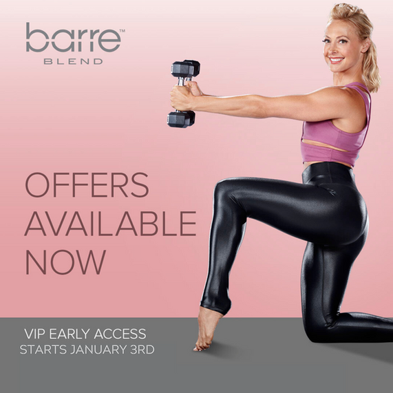 At Home Barre Classes Are Here!