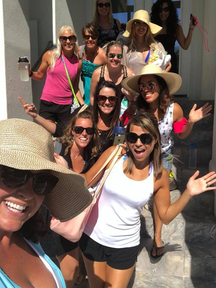 Beachbody team with Kristina Sullins Destin Florida