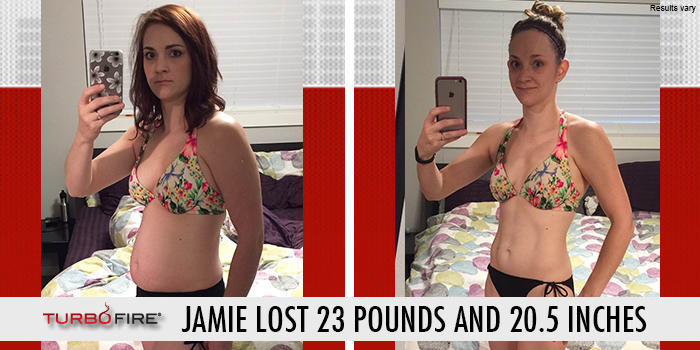 Turbo Fire with Chalene Johnson weight loss results