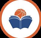 איקון ספר עם כדורסל