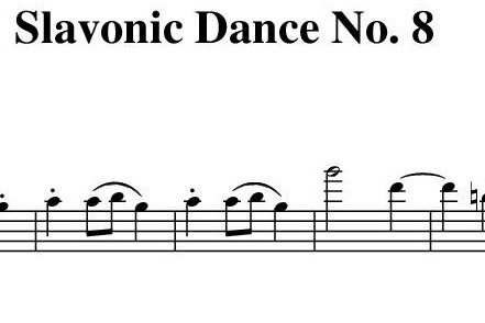 Slavonic Dance No.8