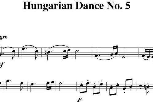 Hungarian Dance No.5