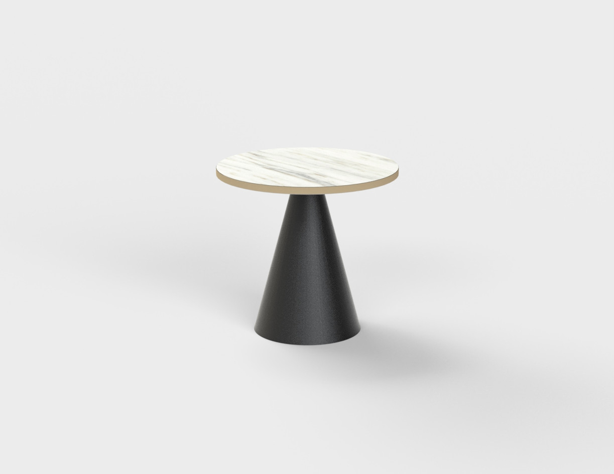 CafeTable_φ700H700_グラス7450_IMPERIALDANBY